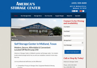 America's Storage Centers – Midland TX Self Storage Units, North Loop 250