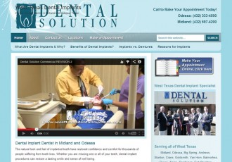 Dental Solution, Midland Odessa TX Dental Implants Dentist