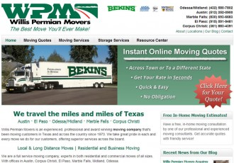Willis Permian Movers - Texas Moving Company